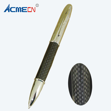 Silver and Black Carbon Fiber Ballpoint Pen Jumbo Parker Style Refill Ball Classical Retractable Retail Shop Stationery