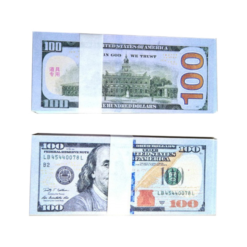 Toys & Hobbies Novelty & Gag Toys Alert 100 Pcs Usd Paper Dollars Money Bar Props Party Wedding Decoration Fun Funny Gadgets Interesting Toys For Children Birthday Gift