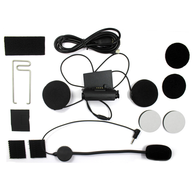 US $12 46 23% OFF|Easy Rider Audio & Mic Kit for Original Airide R2 Helmet  Headset Base Microphone Accessories-in Helmet Headsets from Automobiles &