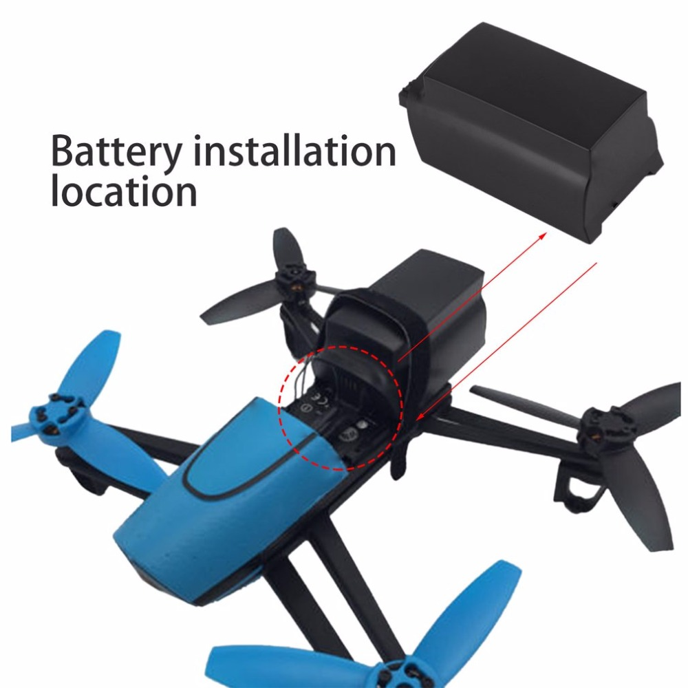 все цены на 2500mAh 11.1V 10C Continuous Discharge Large Capacity Lipo Battery Drone Backup Replacement Battery For Parrot Bebop Drone 3.0