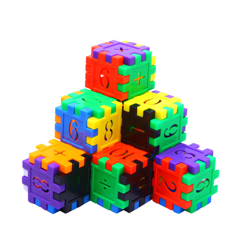 170 Pcs Colorful Plastic Building Blocks Bricks Toys with Number Math Learning Educational Blocks Xmas Gifts for Children Kids wange educational learning toys kids diy set toys cars plastic model kits building bricks blocks for boys 4 in 1 with motor