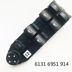 Przełącznik główny okien dla BMW E60 525i 528i 530i 535i 545i 550i M54 2.5L N52 3.0L N54 3.0L 61316951914