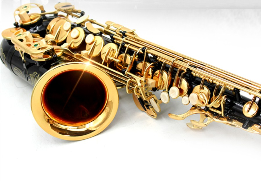 New High Quality Saxophone Alto Sax SAS- 54 alto saxophone Musical Instruments Professional E flat Sax Blac Kickel Gold Shipping insight guides las vegas city guide