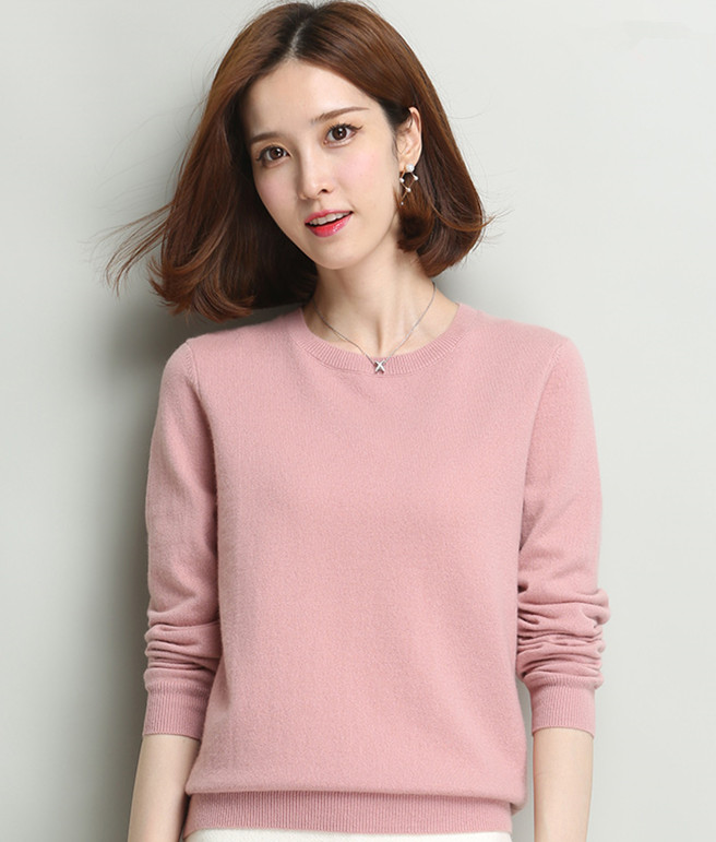 2019 New Spring Autumn Summer women sweater Pullover girl ladies 100% cashmere sweater Pullover free shipping JN703-in Pullovers from Women's Clothing    1