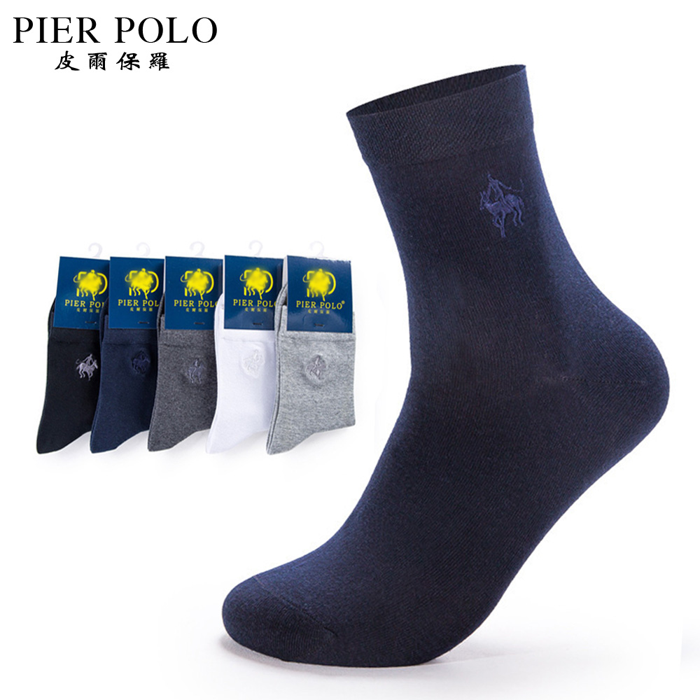 5 pairs/lot PIERPOLO Brand Mens Dress Socks Meias Casual Man Sock Black High Quality Cool Men Socks Cotton Calcetines Hombre
