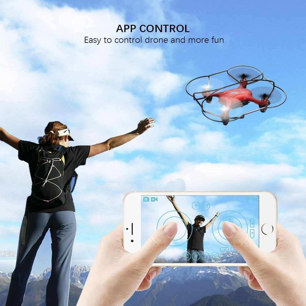 Image 2 - APEX Mini Camera Drone 720P FPV Camera Mini Drone Dron With Camera HD Quadcopter RC Helicopter Altitude Hold Headless Mode-in RC Helicopters from Toys & Hobbies