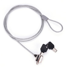 Anti-Theft Office Notebook Laptop PC Computer Desk Key Security Lock Chain Cable cheap JETTING CN(Origin)
