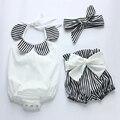 2016 Novas ações de algodão meninas do bebê macacão macacão infantil criança roupas de bebê fralda de pano cobre botines