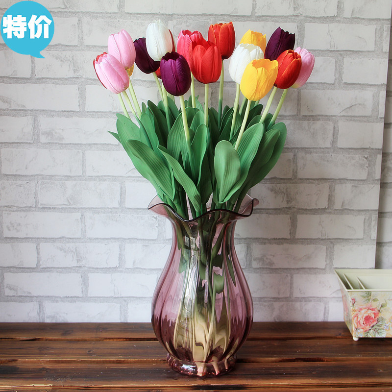 Factory direct sales champion single tulips artificial flowers factory direct sales champion single tulips artificial flowers artificial flowers wholesale silk flower plant trade in artificial dried flowers from home mightylinksfo