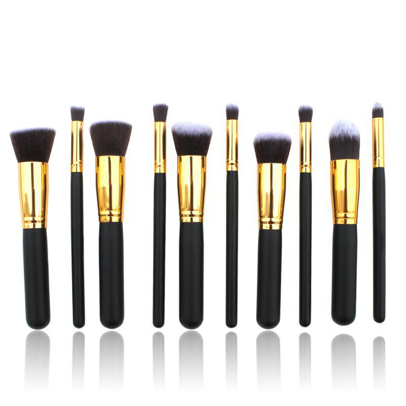 Professional Makeup Brush Set 10pcs High Quality Makeup Tools professional makeup brush set 12pcs high quality makeup tools