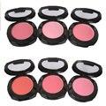 1 pcs maquiagem blush em pó pressionado natural para o rosto de maquiagem ferramentas pincel de blush blush paleta com mirror multi cores feminino