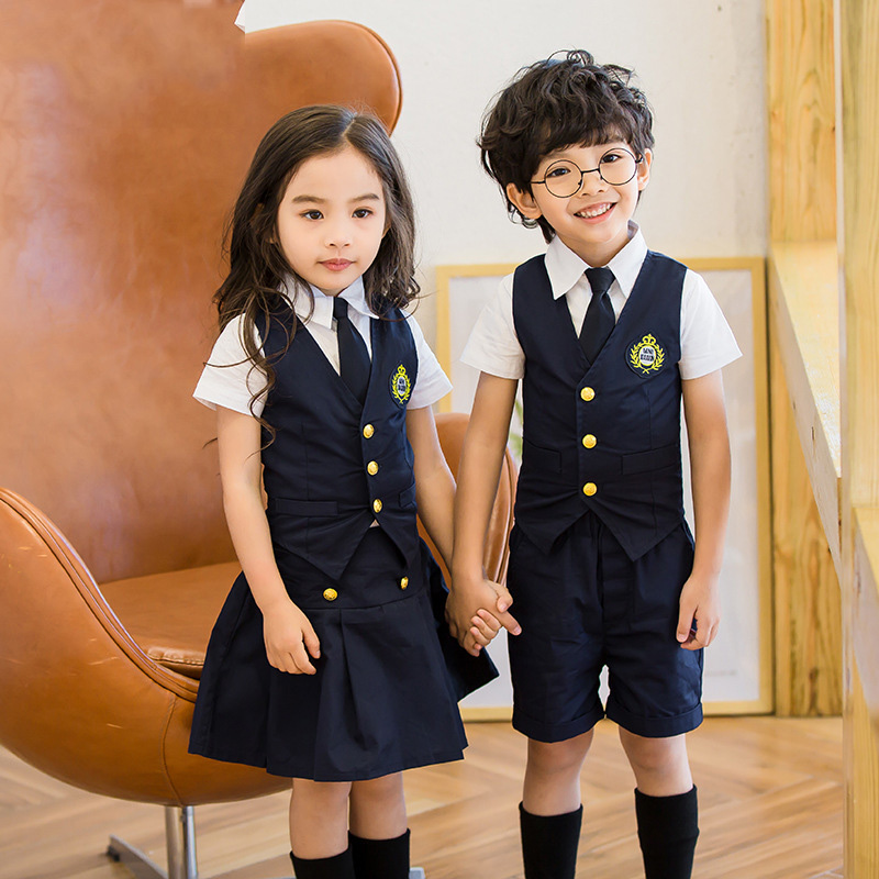 Children Korean Japanese Student Formal Preppy School -1123