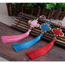 20 Pieces / Lot Small Chinese Knot Tassel Pendant Red China National Wind Hanging Drop Characteristics Gift for Friends