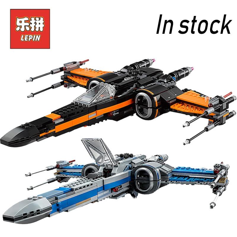 Lepin Starwars 05004 X wing Tie Fighter 05005 Model Building Kits 05029 75102 Block Bricks Star Plan Wars Children Gifts 75149