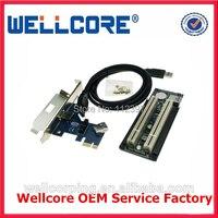 Laptop Için Expresscard 34 2 Pci-E 16x yuvaları adaptör PCI Express Yükseltme Kartı