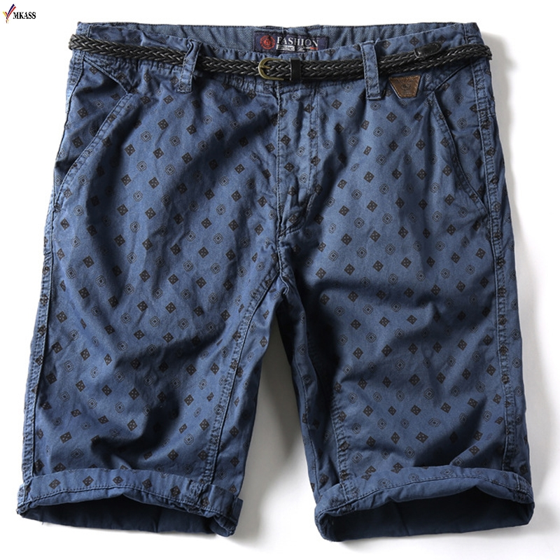 Hot 2019 New Brand Men's   Shorts   Summer Mens Beach   Shorts   Cotton Casual Male   Shorts   Homme Bermuda Masculina Plus Size