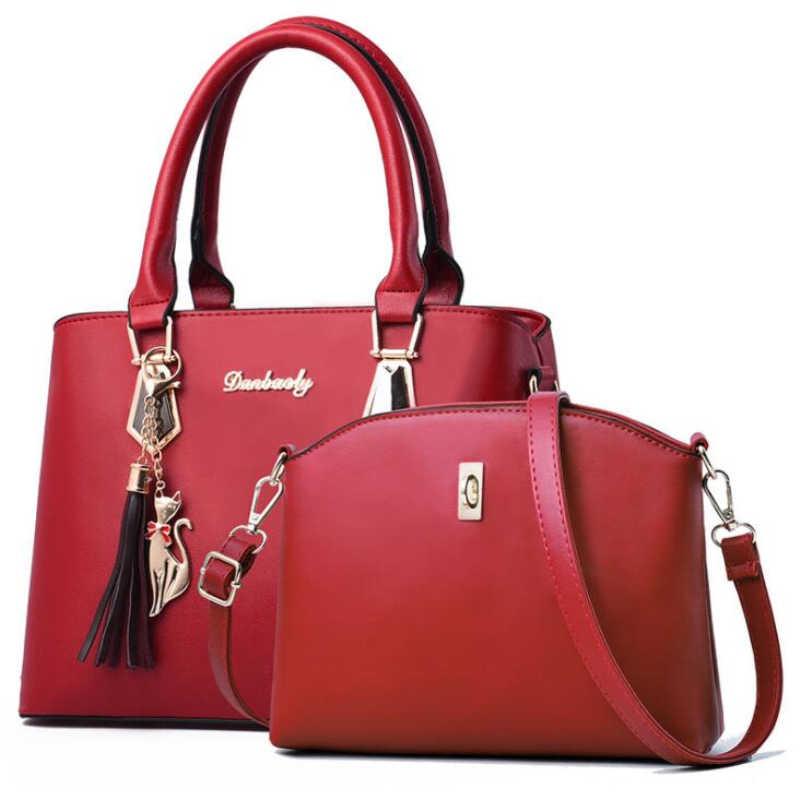 FGJLLOGJGSO الأزياء جديد شرابة حقائب سيدة حمل حقيبة ساعي النساء الجلود حقيبة يد الإناث الكتف crossbody أكياس sac