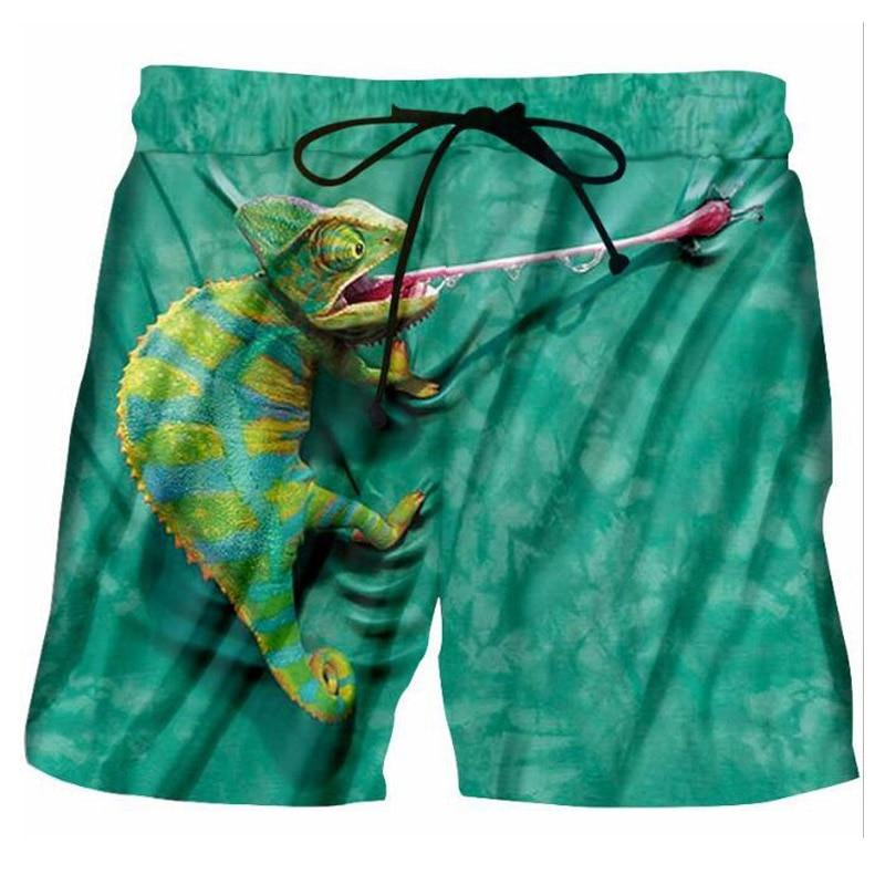 Men's Clothing Hard-Working Fashion Summer Male Skull Print Sandblasting Short Pants Fashion Mens Casual Sportwear Beach Shorts Man