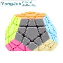 YongJun RuiHu Megaminxeds 3x3x3 Magic Cube YJ Dodecahedron 3x3 Speed Puzzle Antistress Fidget Educational Toys For Children yongjun diamond symbol 3x3x3 magic cube yj 3x3 professional neo speed puzzle antistress fidget educational toys for children