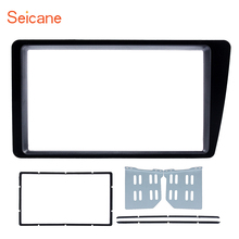 Seicane Top Double 2 Din Car Radio Fascia for 2001-2005 Honda Civic LHD Dash Mount DVD Frame Auto Stereo Adaptor