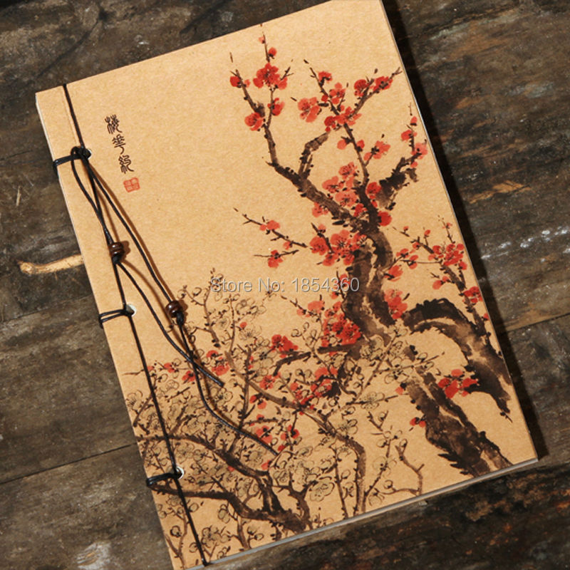 Wholesale Stationery Vintage Drawing Book Notedpad Lovely Notebook