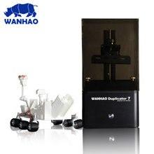 2017 новый v1.3 d7 wanhao дубликатор 7 уф смолы 3d принтер SLA DLP 3D Принтер для продажи только $399 с 250 мл Смолы подарок