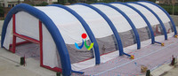 Giant outdoor tunnel event inflatable wedding clear tent for sale