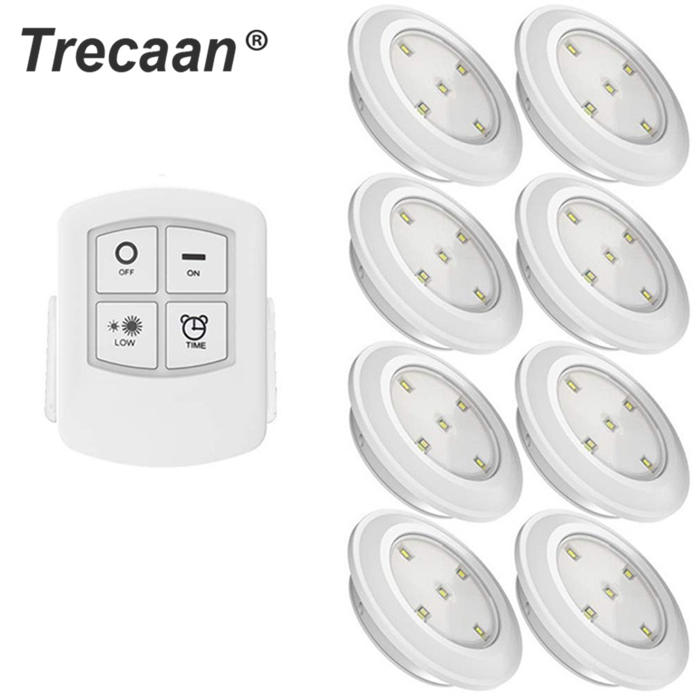Led Cabinet Light Battery Powered Wireless Touch Sensor Or Remote Controller Led Night Lamp For Wardrobe,Stairs,Drawer