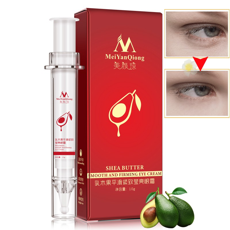 Shea Butter Smooth And Firming Eye Cream Anti-Puffiness Dark Circle Eye Care Super Anti-Aging Effect Moisturizing