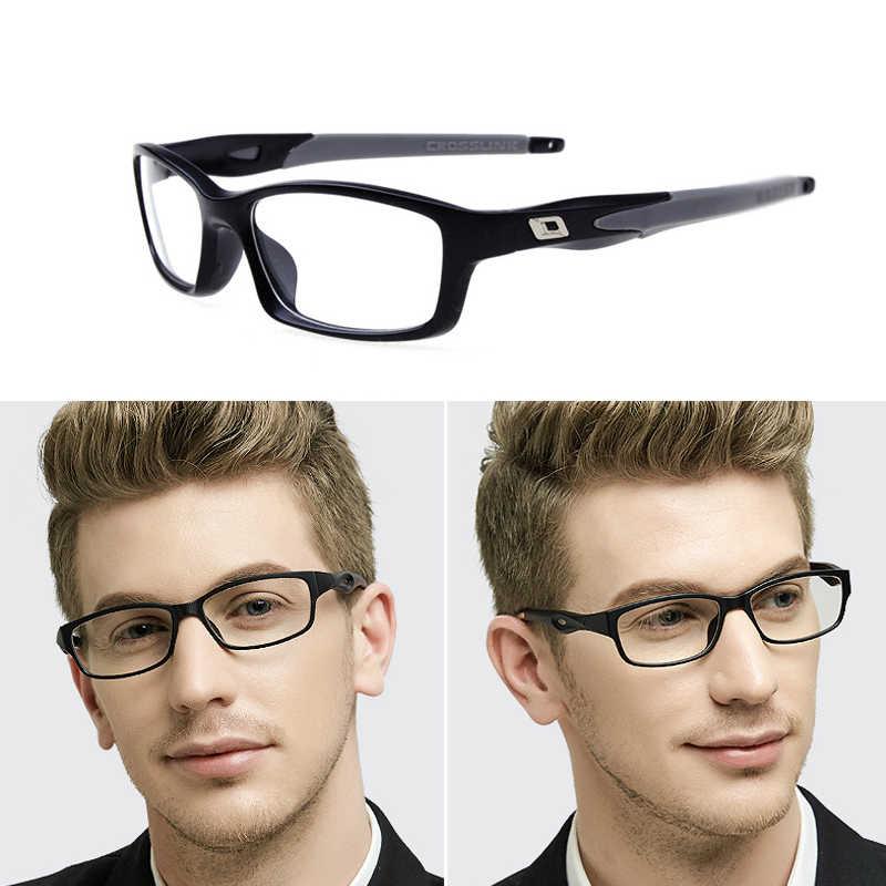 020205a50c Quality Man Myopia Sports Glasses Frame Man tr90 optical eyewear frames  computer goggles reading prescription glasses