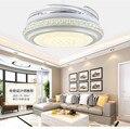 Светодиодный потолочный вентилятор 24 Вт-40 Вт  36-дюймовый И 42-дюймовый мини-стиль для спальни столовой/кабинета 110-240 В