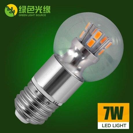 E27 E14 3W 5W 7W LED Corn Bulb led bulb lamp Light 360 degree 220V or 110V