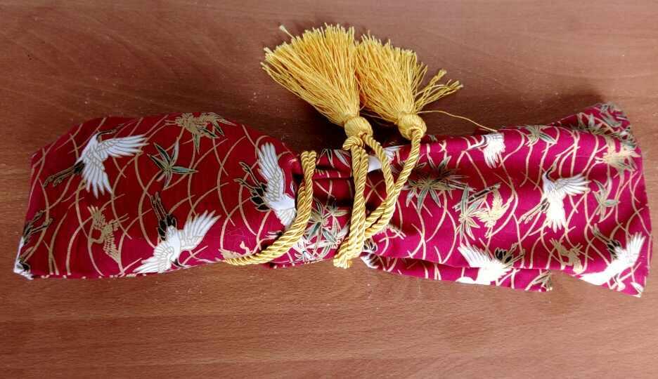 Chất lượng hàng đầu kung fu võ thuật iaido gỗ dao túi Kendo tre cần cẩu thanh kiếm túi gói