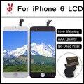 50 unids pixel no muertos grado aaa 4.7 pulgadas lcd para iphone 6 pantalla táctil con digitalizador asamblea piezas de repuesto DHL Libre