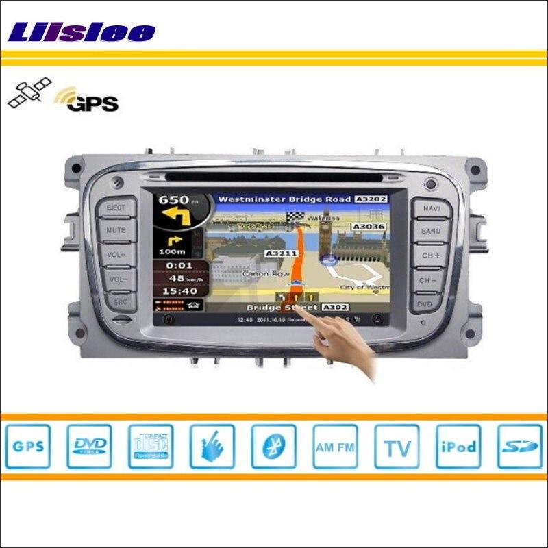 Liiselee Voiture Android Multimédia Pour Ford Pour Focus Pour Mondeo Kuga Radio CD Lecteur DVD GPS Navigation Audio Vidéo S160 système