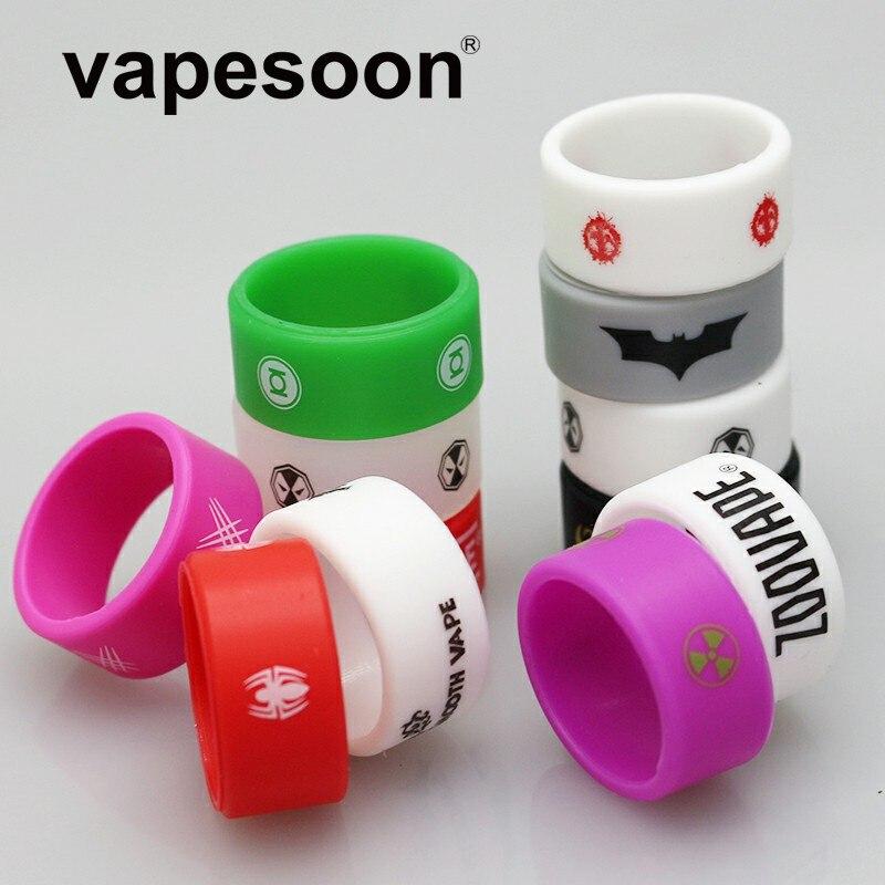 3pcs VapeSoon E Cigarette Non Slip Rubber Vape Band Ring 26*12*2  For TFV12 TFV8 IJUST S TANK Etc
