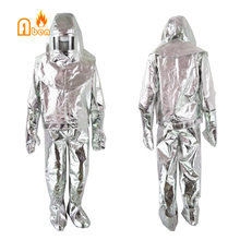 Can resistant 500 degree Heat Resistant aluminum Fireman protective suit(China)