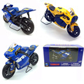1/18Scale Yellow Diecast Motorcycle Kids Toy NEWRAY YAMAHA 46 YAMAHA Moto Diecast Motorbike Kids Gift Collection