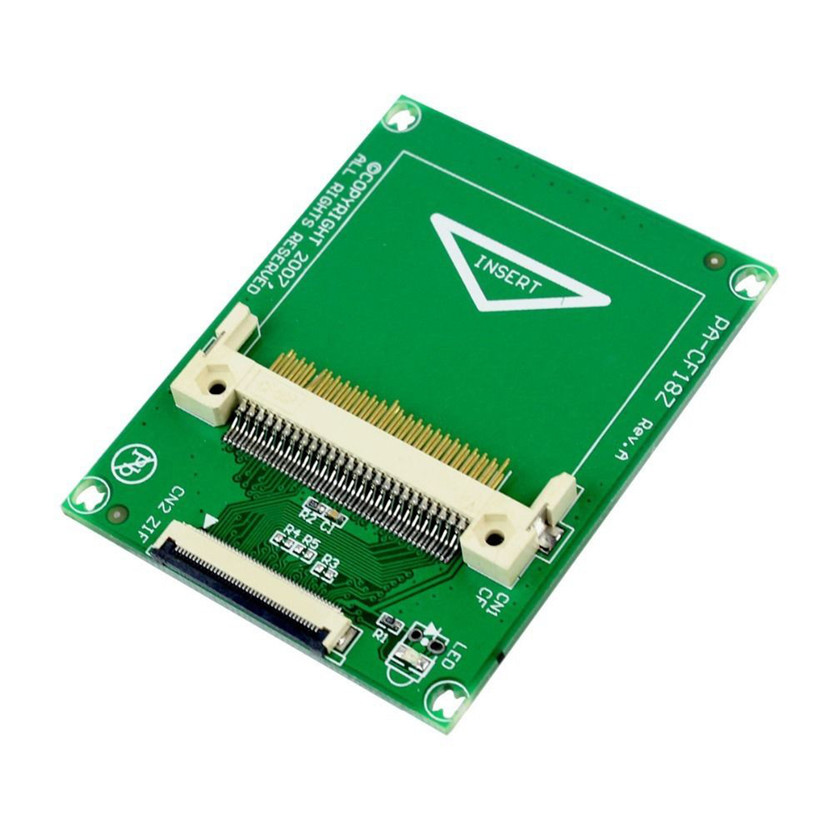 Del 1.8 дюйма Compact Flash карты памяти CF в ce Ipod ZIF SSD HDD адаптер SZ0411 Перевозка груза падения ...