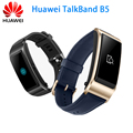 Original Huawei Band B5 Wristband for Monitor Fitness Waterproof Bluetooth 1.13 inch Touch AMOLED Screen Bluetooth Earphone Band