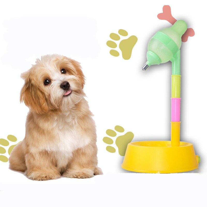 Jormel Dog Feeder Rainbow Drinker Removable Pet Puzzle Dog Drinker Pet Feeder Pet Feeding Supplies in Dog Feeding from Home Garden