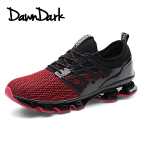 Men Casual Shoes Spring Summer Male Design Lightweight Breathable Mesh Trainers Men Outdoor Walking Flat Shoes