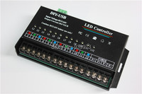 Led RGB Controller 12 Channels Dynamic Scanning USB DIY LED Controller RGB Full Color Led Display