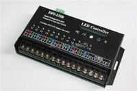Led rgb 컨트롤러 12 채널 동적 스캔 usb diy led 컨트롤러 rgb 풀 컬러 led 디스플레이 컨트롤러 무료 배송