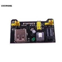 100 قطعة MB102 اللوح وحدة امدادات الطاقة 3.3 فولت 5 فولت لاردوينو لوح دون لحام