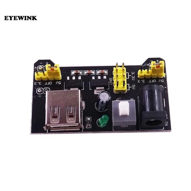 100 個 MB102 ブレッドボード電源モジュール 3.3V 5 Arduino のためはんだ不要ブレッドボード