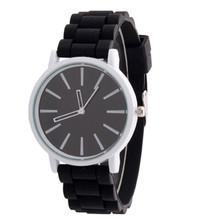 Women Sport Watch 2017 Hot Sale Relogio Feminino Top Brand Luxury Fashion GENEVA Silicone Rubber Quartz Wrist Watch Gift Relojes