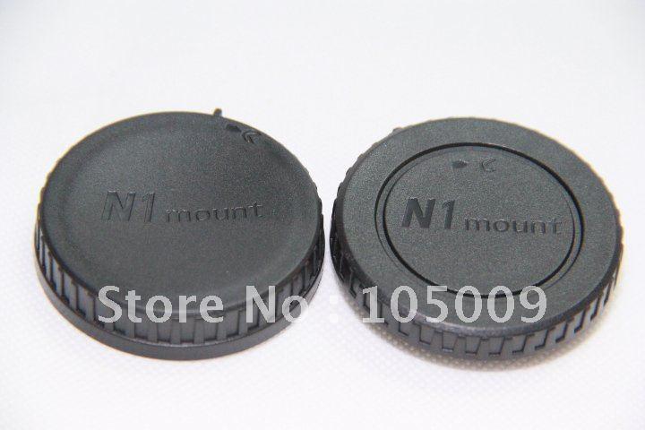 Задняя Крышка Объектива/Обложка + Камера Защитная Крышка для Nikon 1 N1 J1 гора V1
