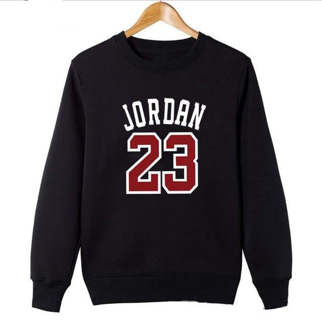 4de96699a54ce9 2018 Brand New Fashion JORDAN 23 Men Sportswear Print Men Hoodies Pullover  Hip Hop Mens tracksuit Sweatshirts Clothing