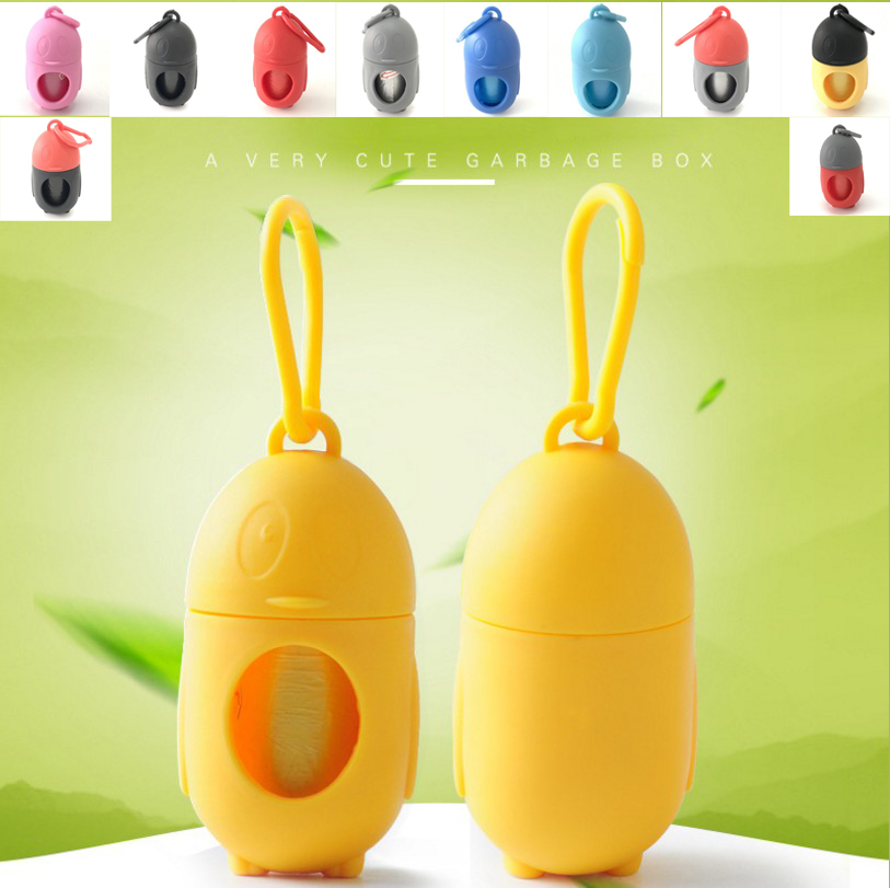 Penguin Shape Pet Dog Poop Bag Dispenser Waste Garbage Bags Carrier Holder Dispenser Pet Products